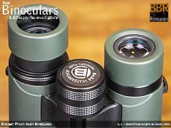 Eyecups on the Bresser Pirsch 8x34 Binoculars