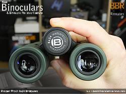 Focus Wheel on the Bresser Pirsch 8x34 Binoculars