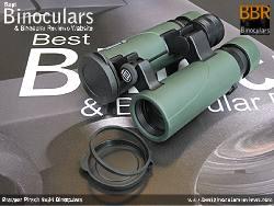 Lens Covers on the Bresser Pirsch 8x34 Binoculars