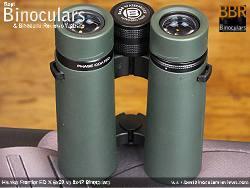 Underside view of the Bresser Pirsch 8x34 Binoculars
