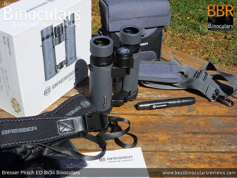 Accessories for the Bresser Pirsch ED 8x34 Binoculars