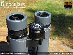 Eyecups on the Bresser Pirsch ED 8x34 Binoculars