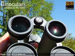 34mm Objective lens on the Bresser Pirsch ED 8x34 Binoculars