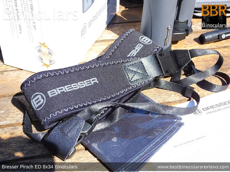 Neck Strap for the Bresser Pirsch ED 8x34 Binoculars