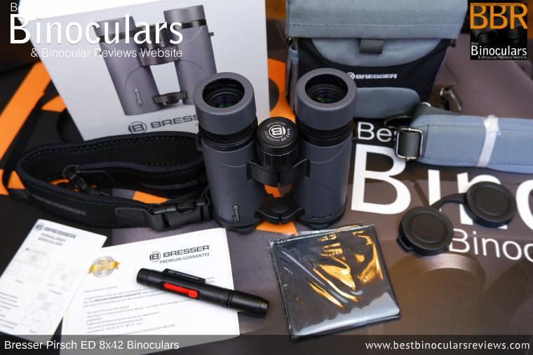 Accessories for the Bresser Pirsch ED 8x42 Binoculars