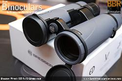 Lens Covers on the Bresser Pirsch ED 8x42 Binoculars