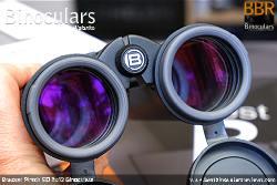Deeply inset 52mm Objective lens on the Bresser Pirsch ED 8x42 Binoculars