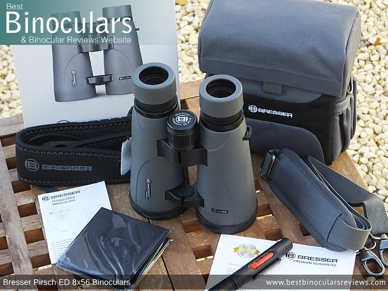 Accessories for the Bresser Pirsch ED 8x56 Binoculars