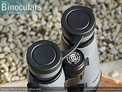 Rain Guard on the Bresser Pirsch ED 8x56 Binoculars