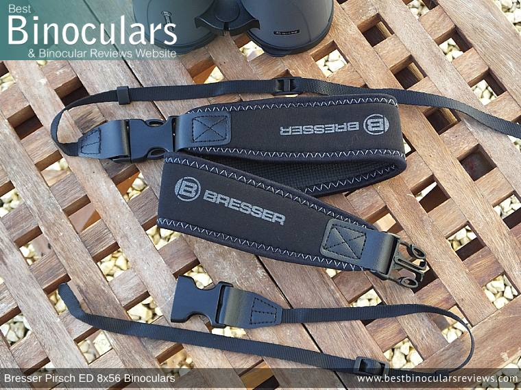 Neck Strap for the Bresser Pirsch ED 8x56 Binoculars