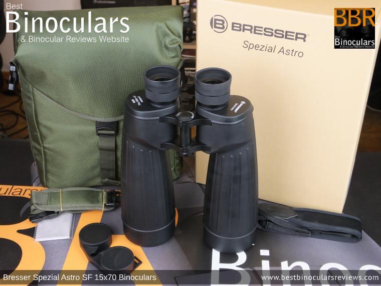 Accessories & Box for the Bresser Spezial Astro SF 15x70 Binoculars
