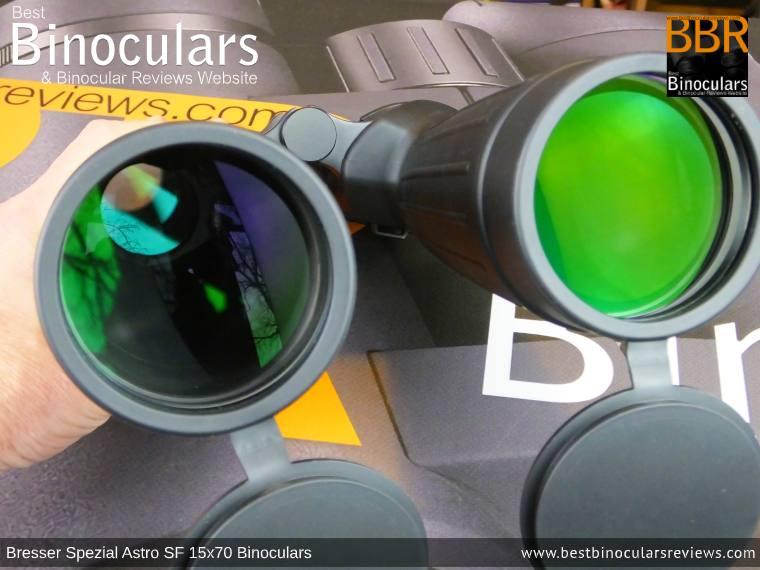 70mm Lenses on the Bresser Spezial Astro SF 15x70 Binoculars