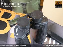 Rainguard on the Bresser Spezial Astro SF 15x70 Binoculars