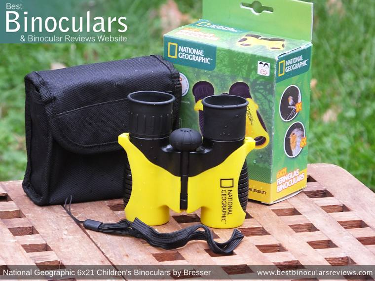 Snypex Knight D-ED 10x32 Binoculars and accessories plus packaging