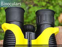 Diopter Adjustment on the Snypex Knight D-ED 10x32 Binoculars
