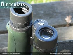Eyecups on the Carson RD 8x42 Binoculars