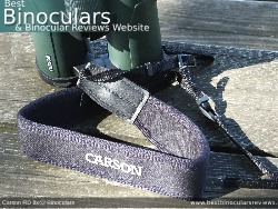 Neck Strap included with the Carson RD 8x42 Binoculars