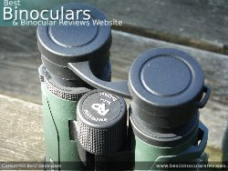 Rain Guard on the Carson RD 8x42 Binoculars