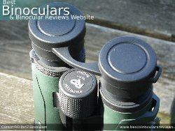 Rain Guard on the Carson RD 8x42 Binoculars