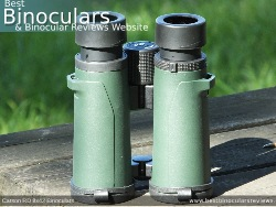 Underside of the Carson RD 8x42 Binoculars