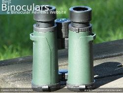 Underside of the Carson RD 8x42 Binoculars