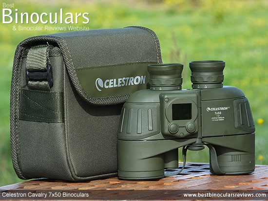 Carry case for the Celestron Cavalry 7x50 Binoculars