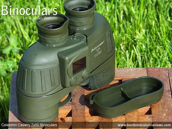 Rain Guard and the Celestron Cavalry 7x50 Binoculars