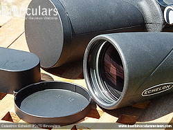 Lens Covers on the Celestron Echelon 20x70 Binoculars