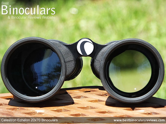 70mm Objective Lenses on the Celestron Echelon 20x70 Binoculars