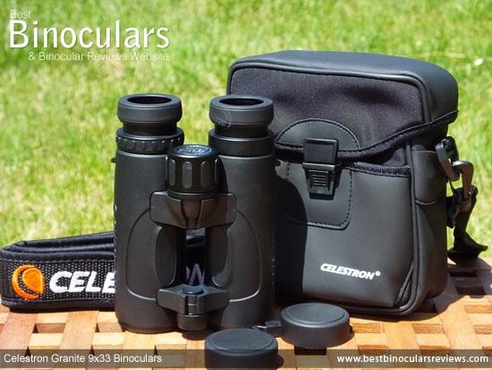 Celestron 9x33 Granite Binoculars, with carry case
