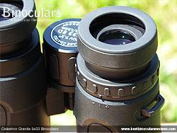 Diopter Adjustment on the Celestron Granite 9x33 Binoculars