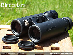 Objective lenses on the Celestron 9x33 Granite Binoculars