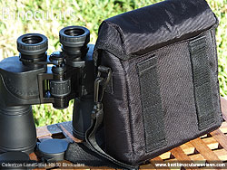 Rear of the Celestron Cavalry Carry Case