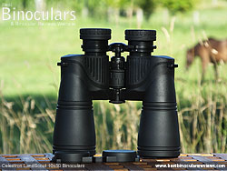 Rear of the Celestron LandScout 10x50 Binoculars