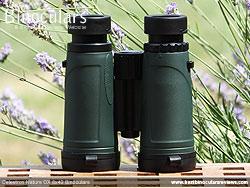Rear of the Celestron Nature DX 8x42 Binoculars