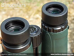 Diopter Adjustment on the Celestron Nature DX 8x42 Binoculars