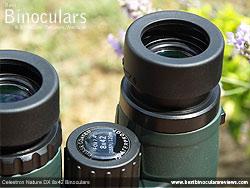 Eyecups on the Celestron Nature DX 8x42 Binoculars