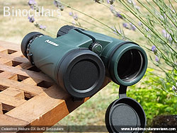 Lens Covers on the Celestron Nature DX 8x42 Binoculars