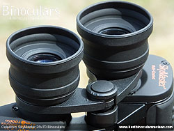 Eyecups on the Celestron SkyMaster 25x70 Binoculars