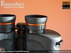 Diopter adjuster on the Celestron SkyMaster Pro 15x70 Binoculars