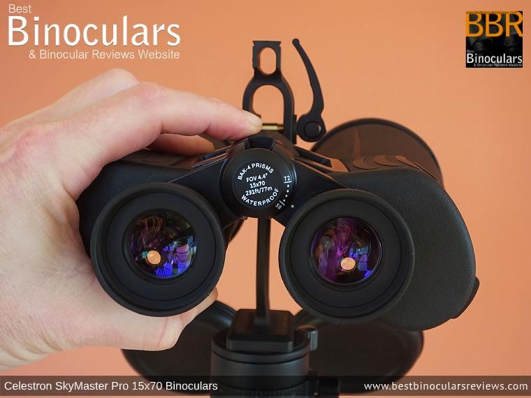Focusing the Celestron SkyMaster Pro 15x70 Binoculars