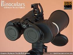 Rainguard on the Celestron SkyMaster Pro 15x70 Binoculars