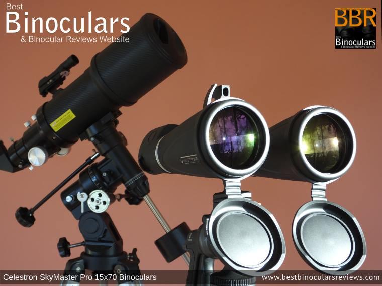 Telescope vs  Celestron SkyMaster Pro 15x70 Binoculars