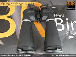 Underside view of the Celestron SkyMaster Pro 15x70 Binoculars