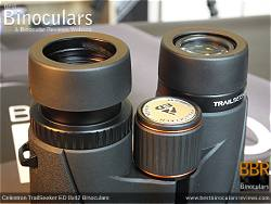 Eyecups on the Celestron TrailSeeker ED 8x42 binoculars