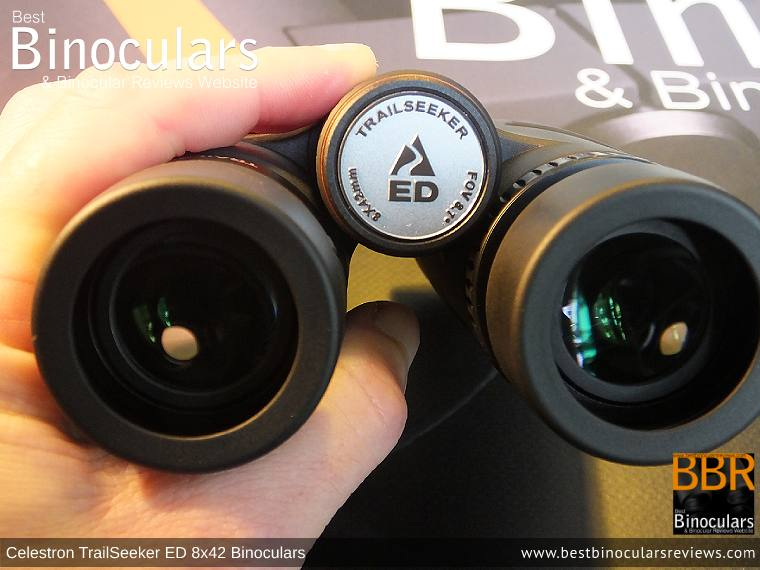 Adjusting the Focus Wheel on the Celestron TrailSeeker ED 8x42 binoculars