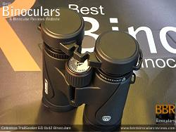 Rain Guard on the Celestron TrailSeeker ED 8x42 binoculars