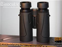 Underside of the Celestron TrailSeeker ED 8x42 binoculars