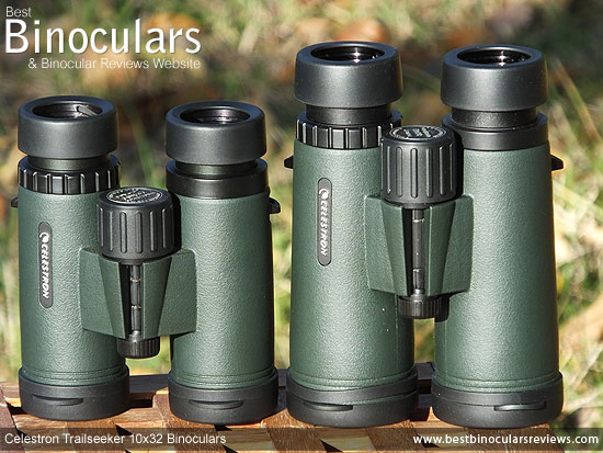 Comparison between the 8x42 and the 10x32 Snypex Knight ED Binoculars