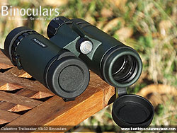 Lens Covers on the Celestron Trailseeker 10x32 Binoculars